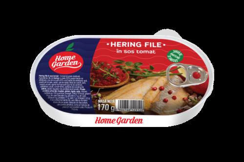 Hering File in sos tomat