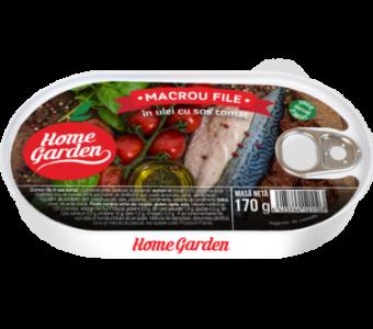 Macrou File in ulei cu sos tomat