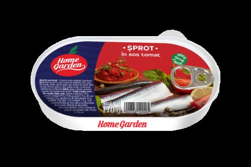 Sprot in sos tomat