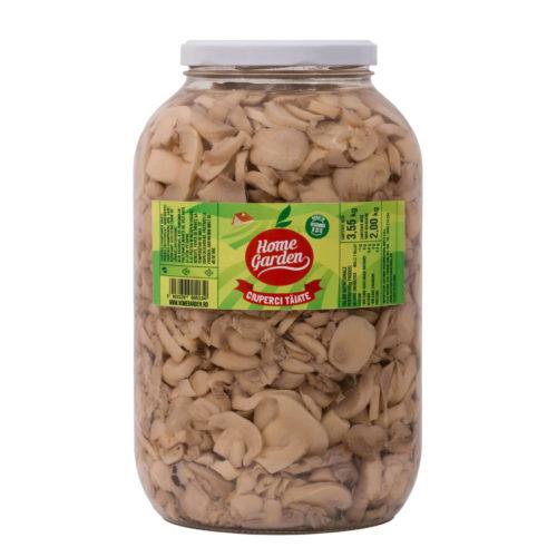 Ciuperci tăiate, 2650 ml