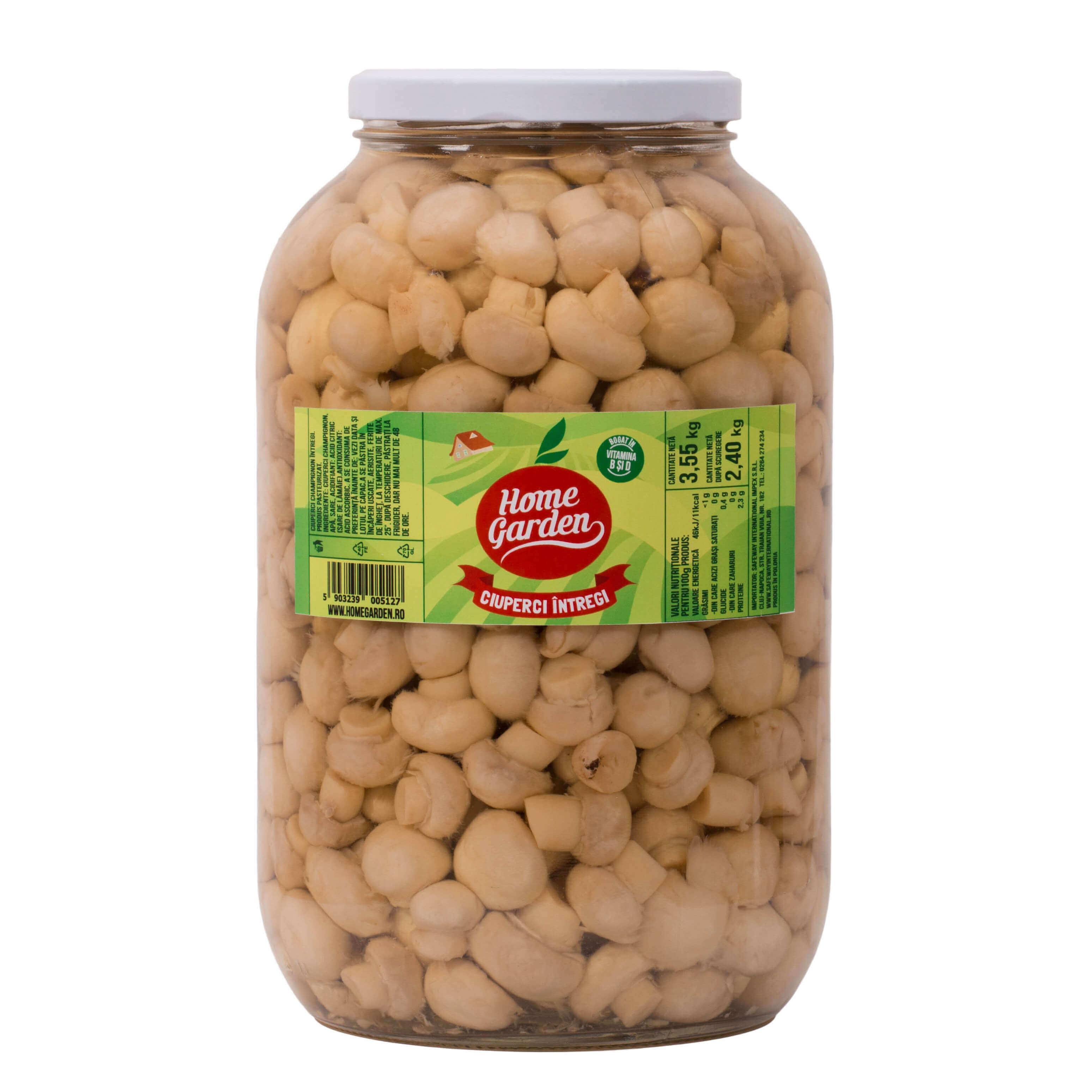 ciuperci proteine 100g