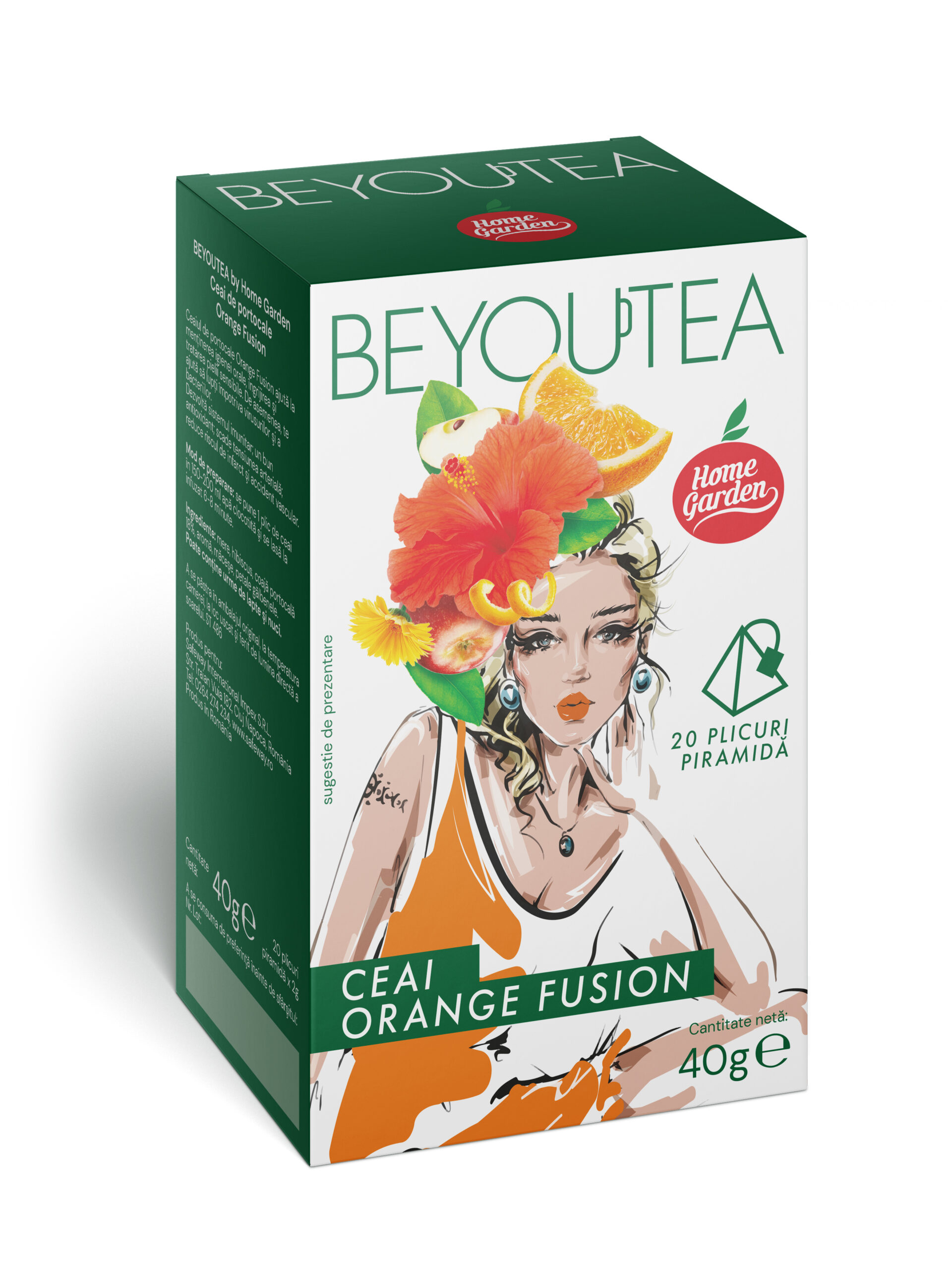 BEYOUTEA Fashion Orange Fusion