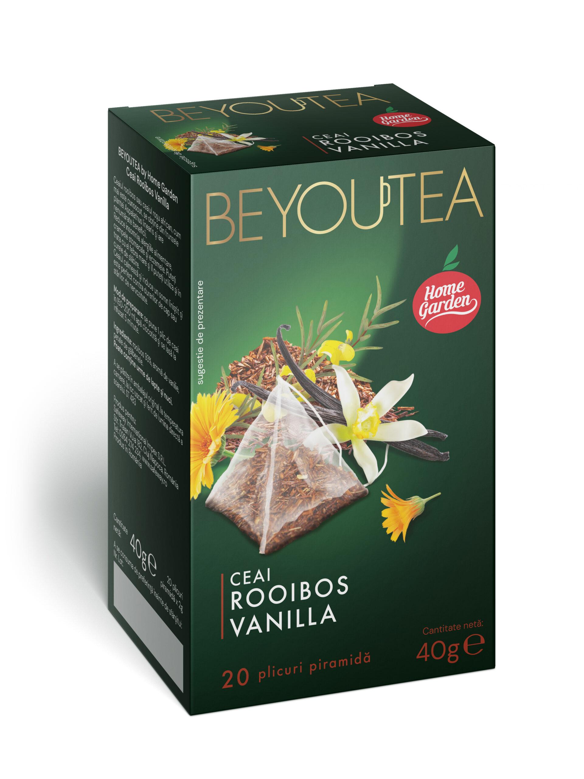 BEYOUTEA Premium Rooibos Vanilla