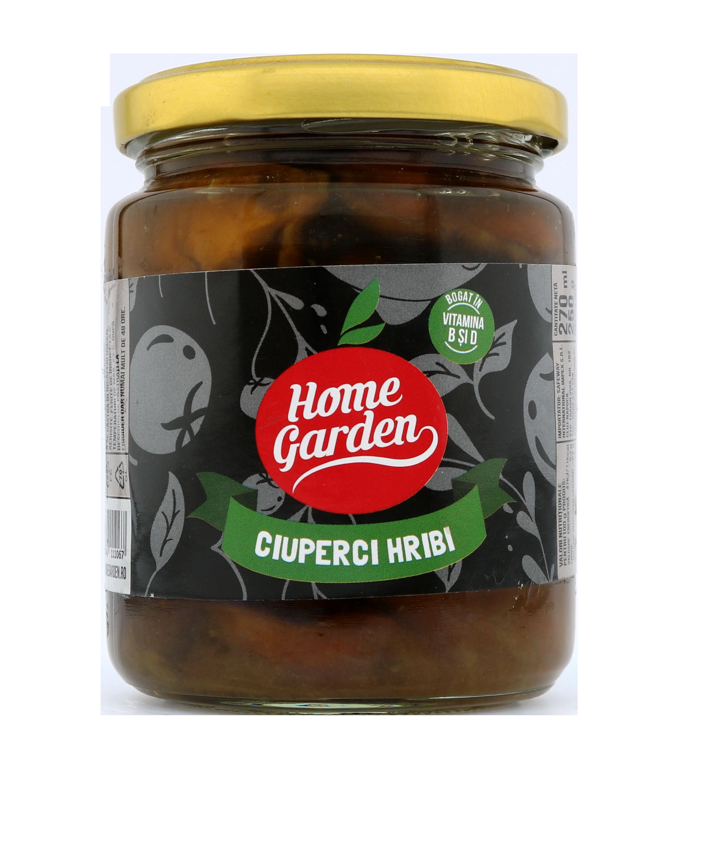 HOME GARDEN Ciuperci hribi borcan 270 ml