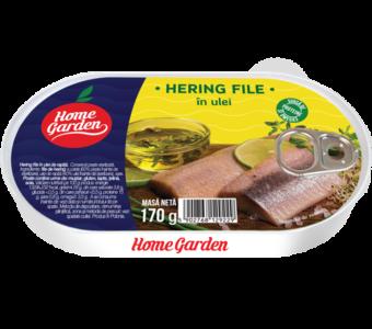 HOME GARDEN Hering file în ulei 170g