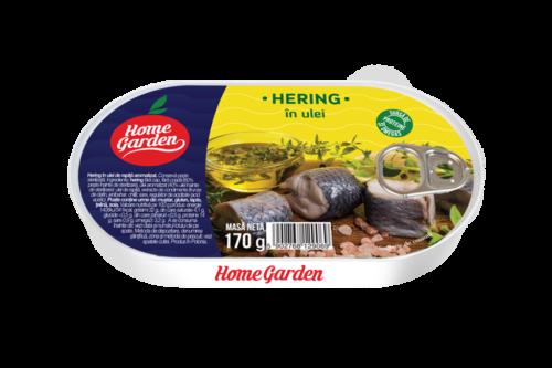 HOME GARDEN Hering în ulei 170g