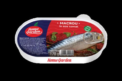 HOME GARDEN Macrou în sos tomat 170g