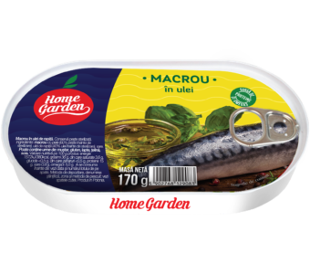HOME GARDEN Macrou în ulei 170g