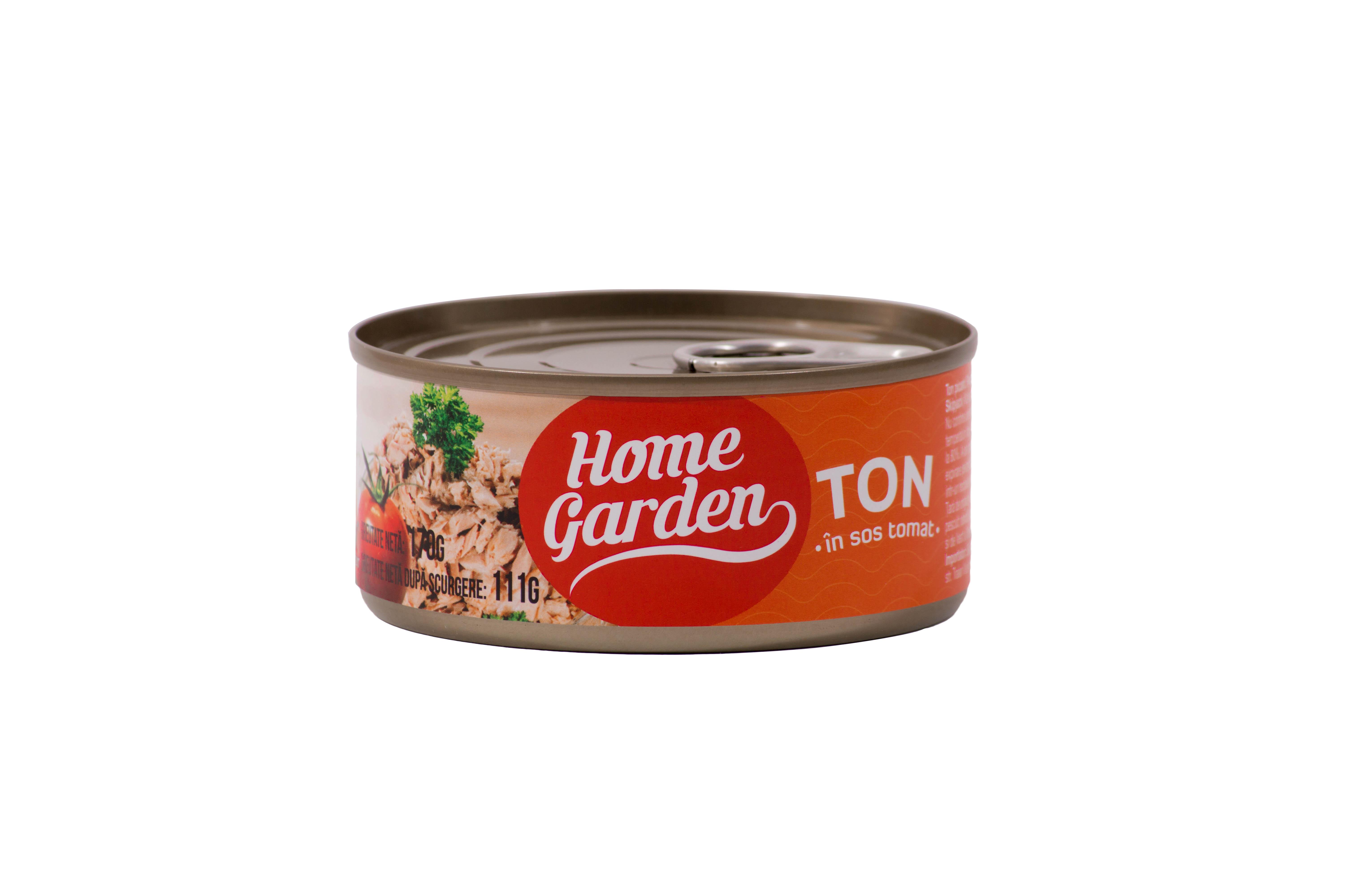 HOME GARDEN Ton în sos tomat 170g